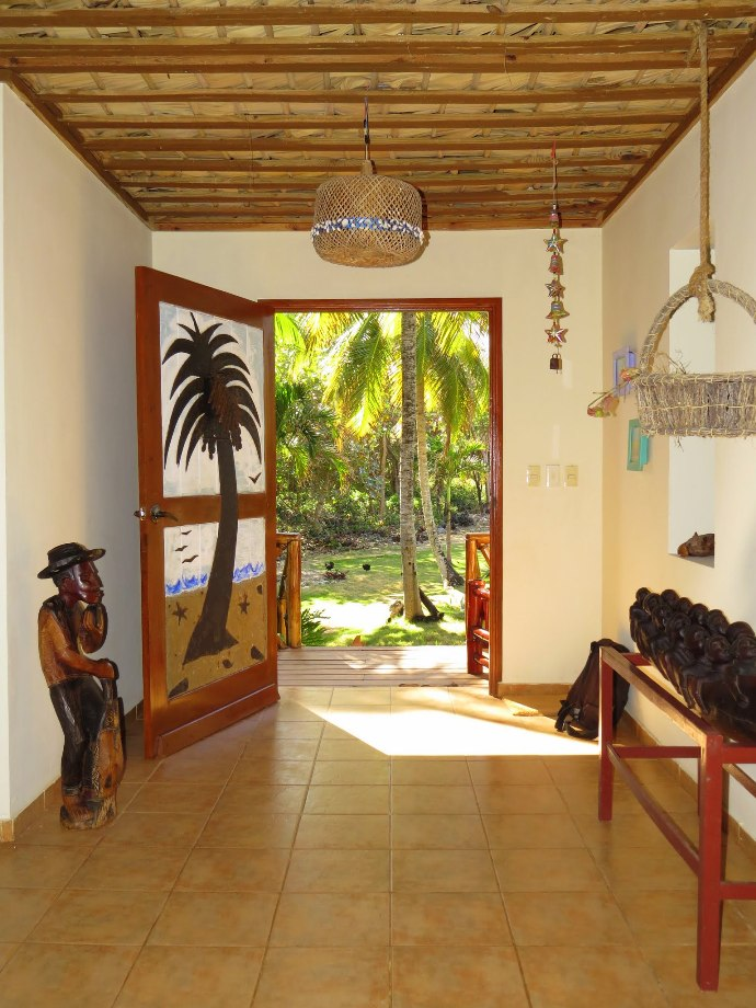 Welcome to Villa Punta Coral... our home's main entrance